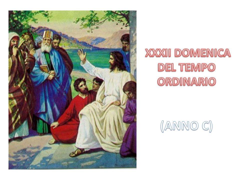 I sadducei ritenevano la risurrezione come pura fantasia umana e su questo argomento gli posero la domanda tranello.