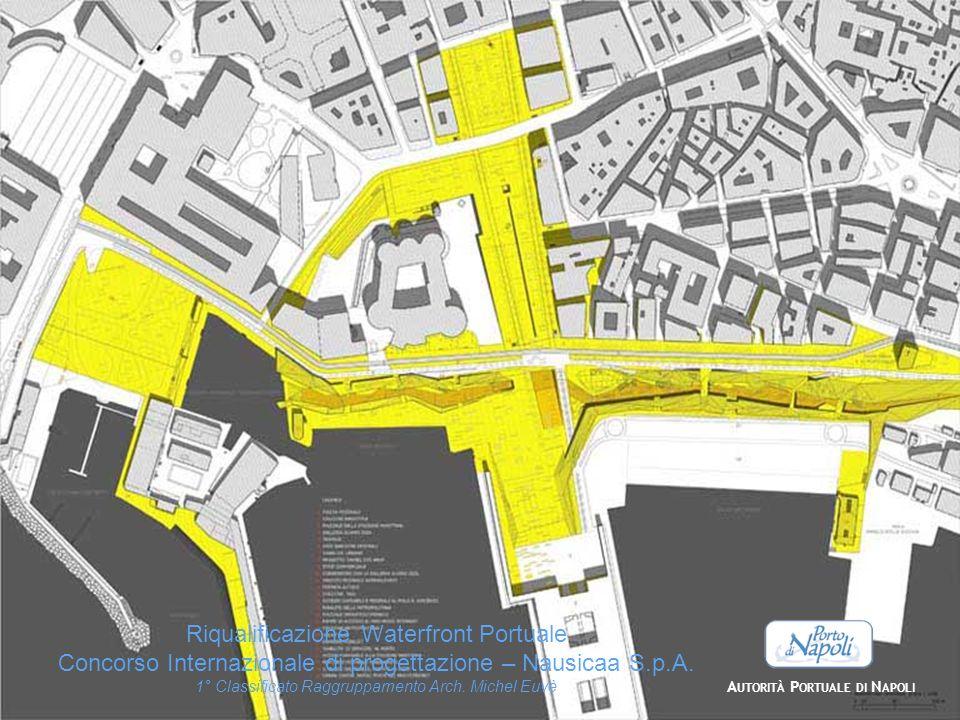 Riqualificazione Waterfront Portuale Concorso Internazionale di progettazione – Nausicaa S.p.A. 1° Classificato Raggruppamento Arch. Michel Euvè A UTO