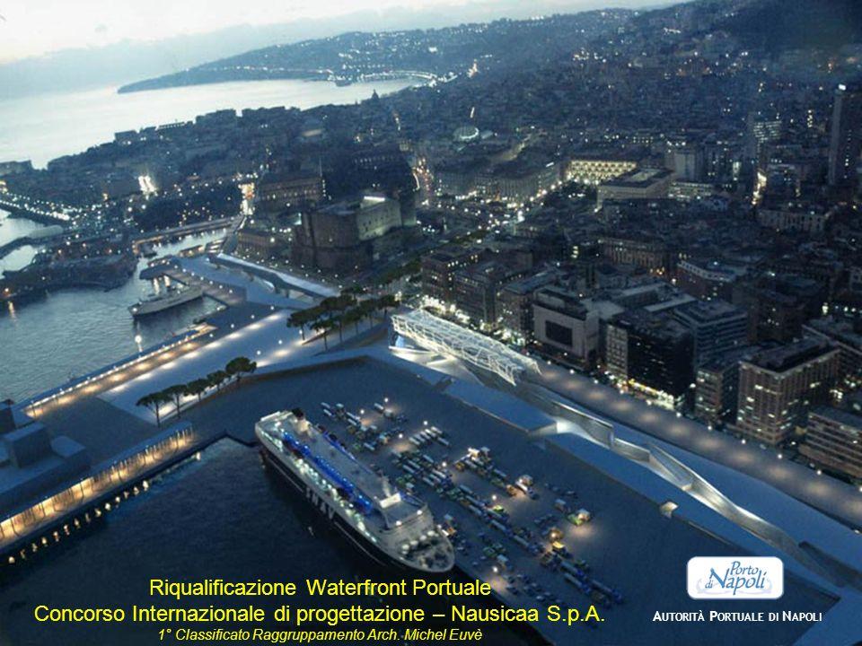 A UTORITÀ P ORTUALE DI N APOLI Riqualificazione Waterfront Portuale Concorso Internazionale di progettazione – Nausicaa S.p.A. 1° Classificato Raggrup