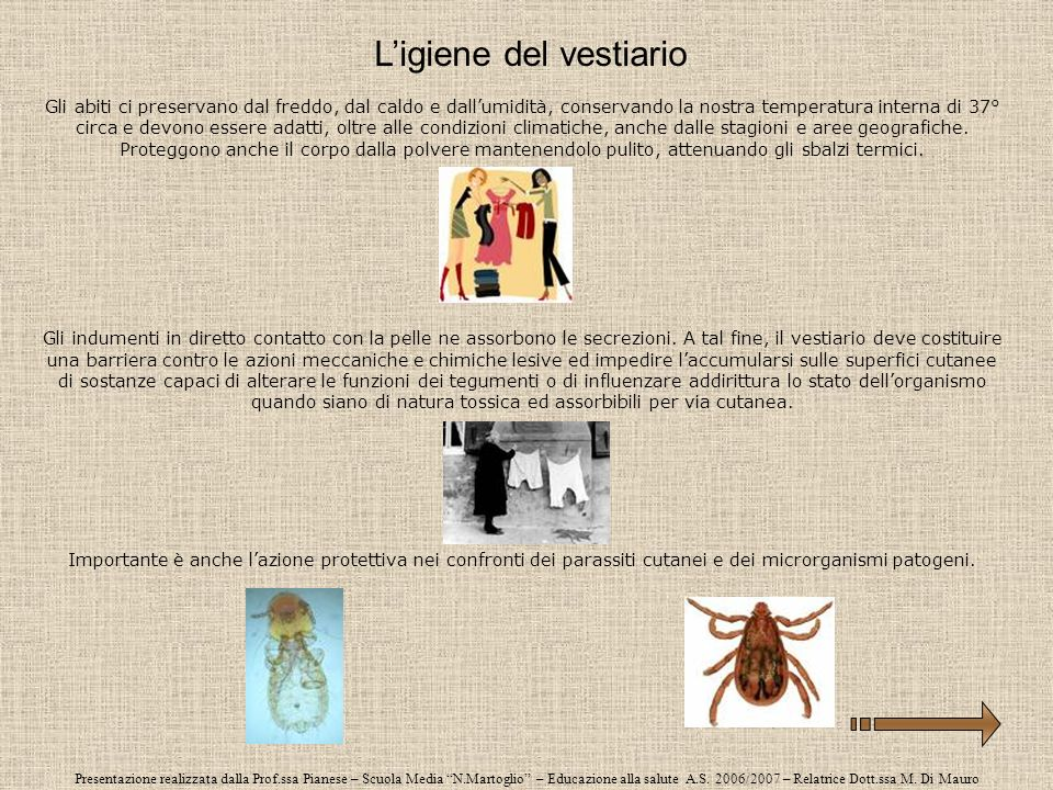 Presentazione realizzata dalla Prof.ssa Pianese – Scuola Media N.Martoglio – Educazione alla salute A.S. 2006/2007 – Relatrice Dott.ssa M. Di Mauro Gl
