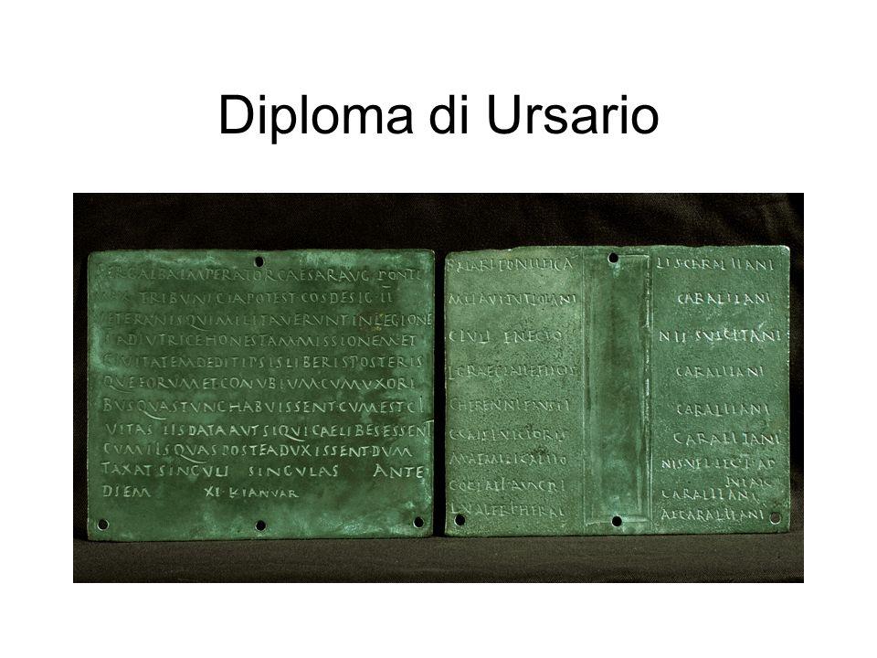 Diploma di Ursario