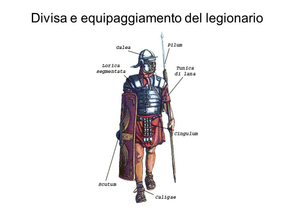 Divisa e equipaggiamento del legionario