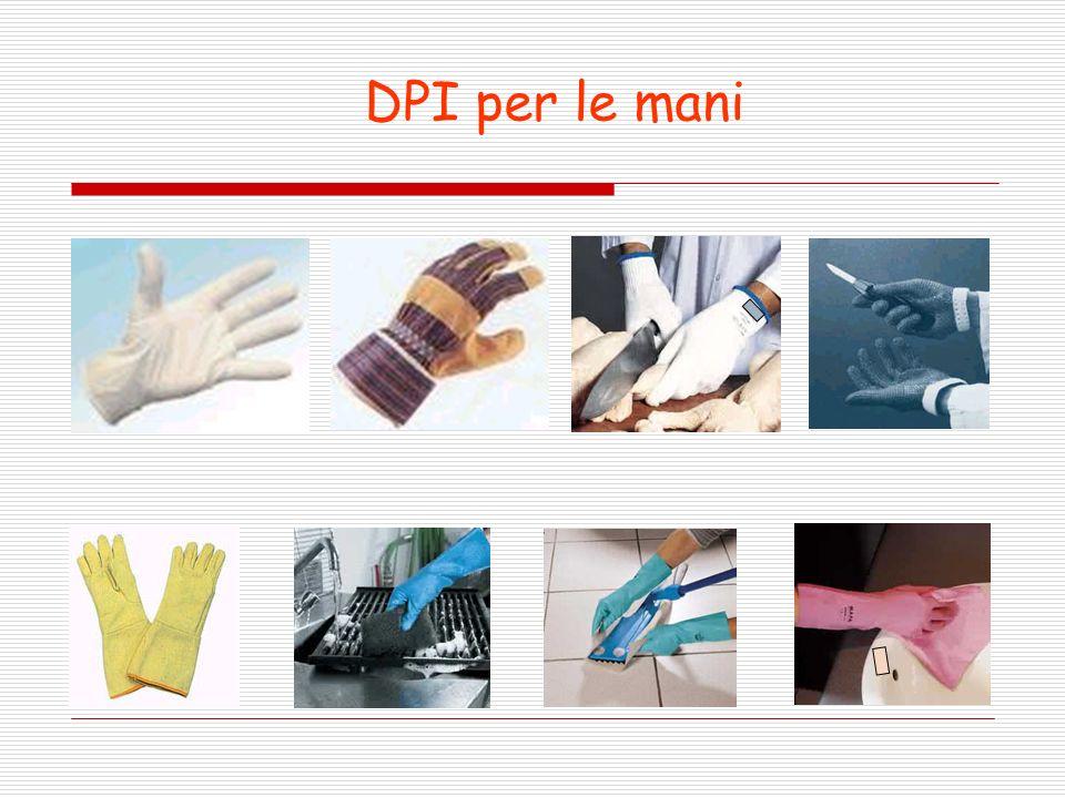 DPI per le mani