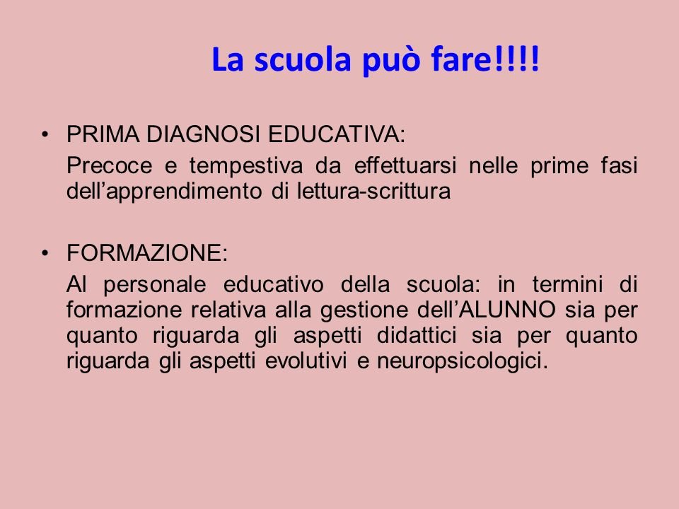 La scuola può fare!!!.