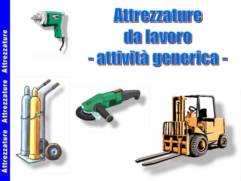 27/02/00Attrezzature da lavoro62 Troncatrice : caratteristiche La troncatrice deve prevedere il collegamento allimpianto di terra.