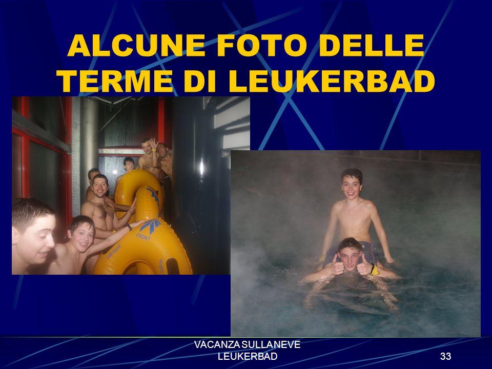VACANZA SULLA NEVE LEUKERBAD32 SALA SCI - SCARPONI