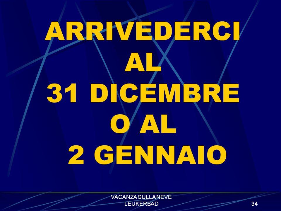 VACANZA SULLA NEVE LEUKERBAD33 ALCUNE FOTO DELLE TERME DI LEUKERBAD