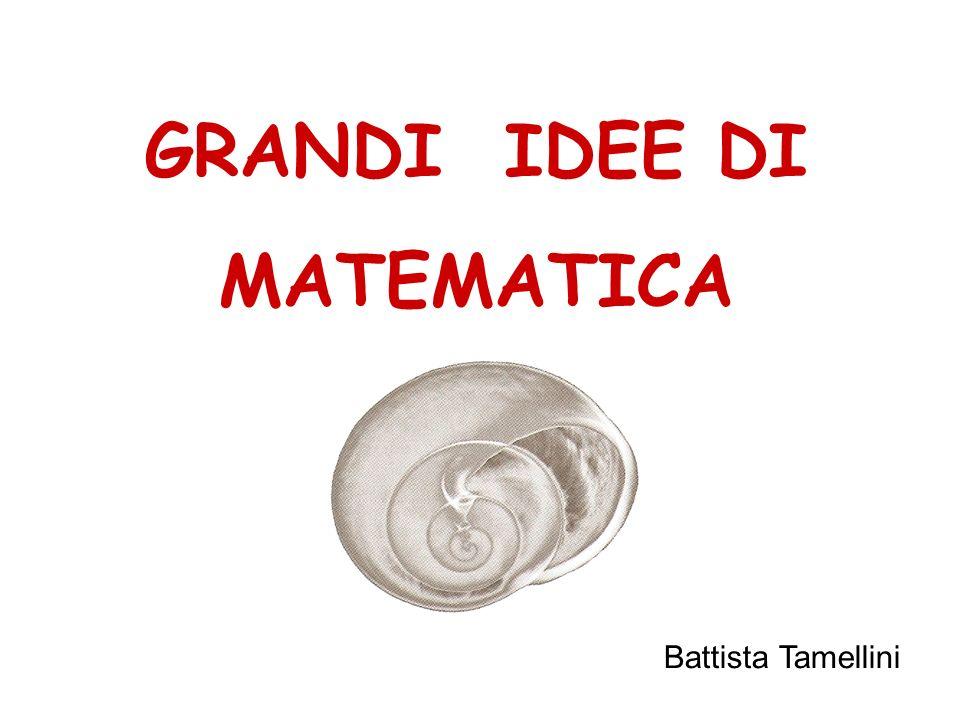 GRANDI IDEE DI MATEMATICA Battista Tamellini