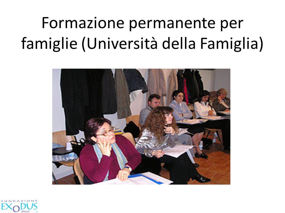 Formazione permanente per famiglie (Università della Famiglia)
