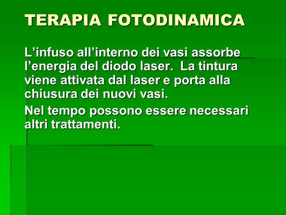 TERAPIA FOTODINAMICA EFFETTI COLLATERALI.