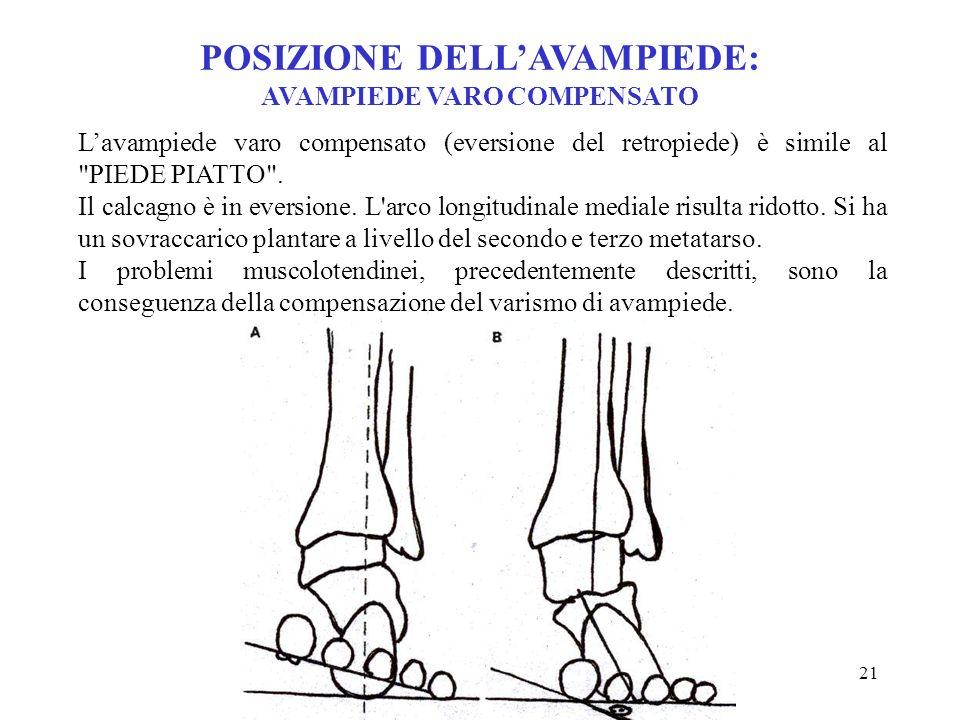 20 Lutter ha rilevato un'anomala pronazione nel 56 % dei corridori che accusavano disturbi al piede. Per questo motivo il muscolo tibiale posteriore l