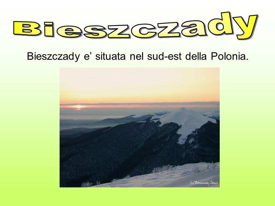 Bieszczady e situata nel sud-est della Polonia.