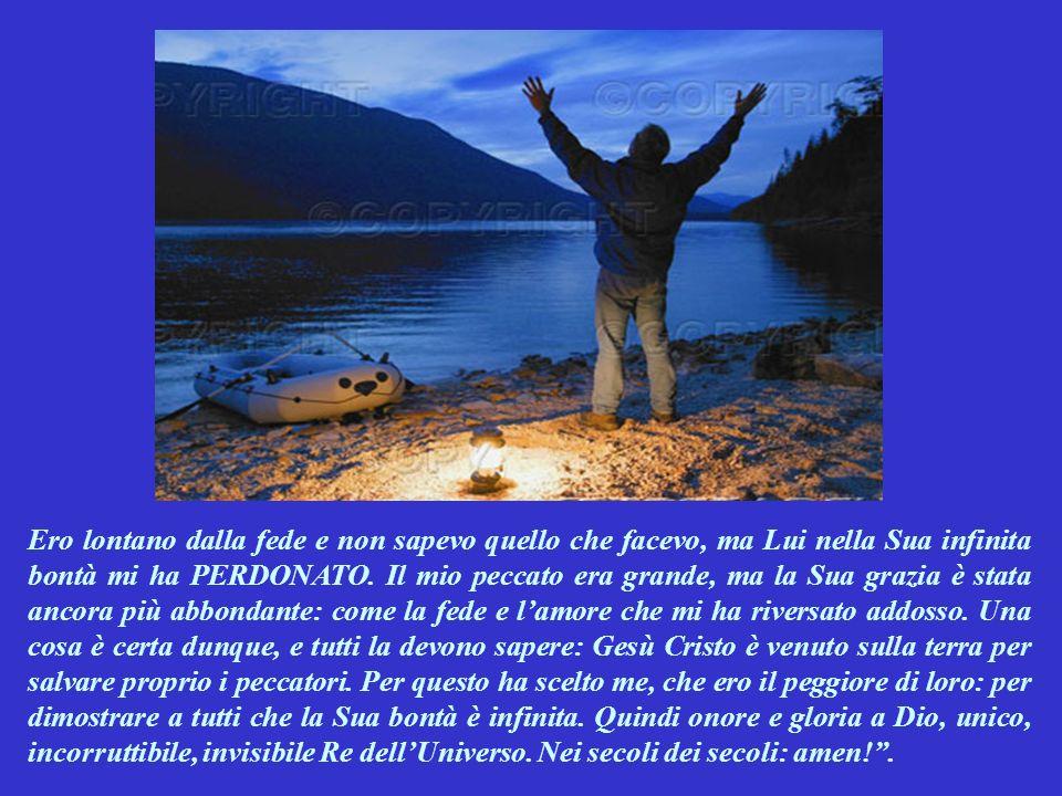 SECONDA LETTURA (dalla 1^ lettera di Paolo a Timòteo 1,12-17) Questa lettera di Paolo a Timòteo, è Parola di Dio.