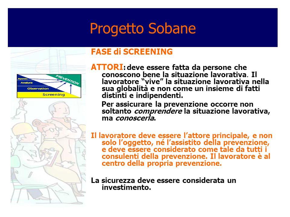 Progetto Sobane I risultati della consultazione Déparis 1.