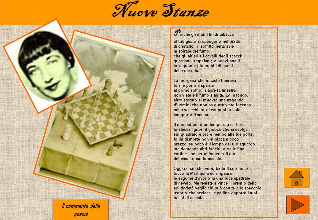 La casa dei doganieri Q uesta poesia è datata 1930 e come Montale stesso ha rivelato molti anni dopo, essa è dedicata ad Arletta, la fanciulla morta c