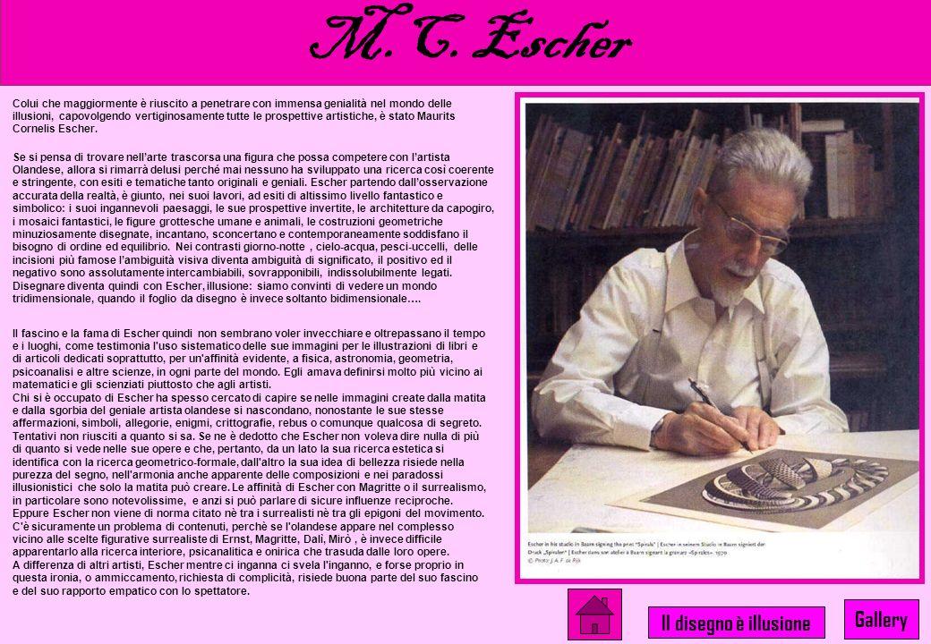 …Il disegno è illusione M. C. Escher Renè Magritte