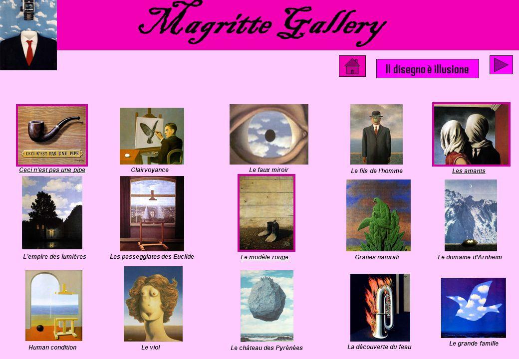 Renè Magritte Il disegno è illusione Gallery Come già detto precedentemente, le affinità di Escher con Magritte sono notevolissime, ma se il lavoro di