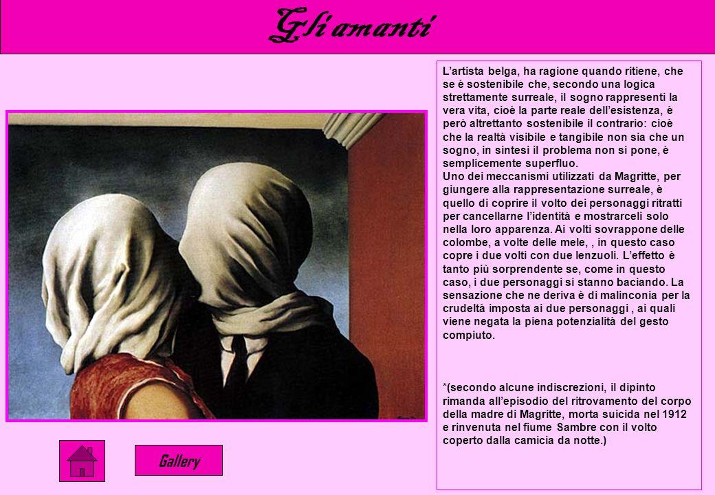 Questa non è una pipa…… Gallery In Ceci nest pas une pipe, il rapporto tra linguaggio ed immagine, ovvero tra rappresentazioni logiche ed analogiche,