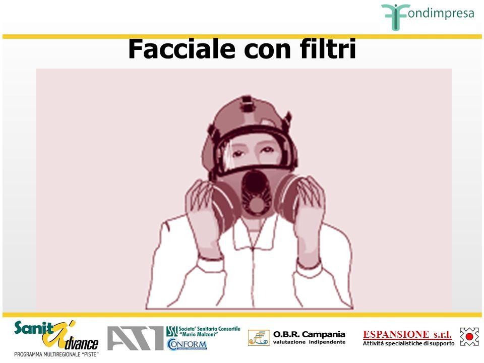ESPANSIONE s.r.l. Attività specialistiche di supporto Filtrante respiratorio FFP