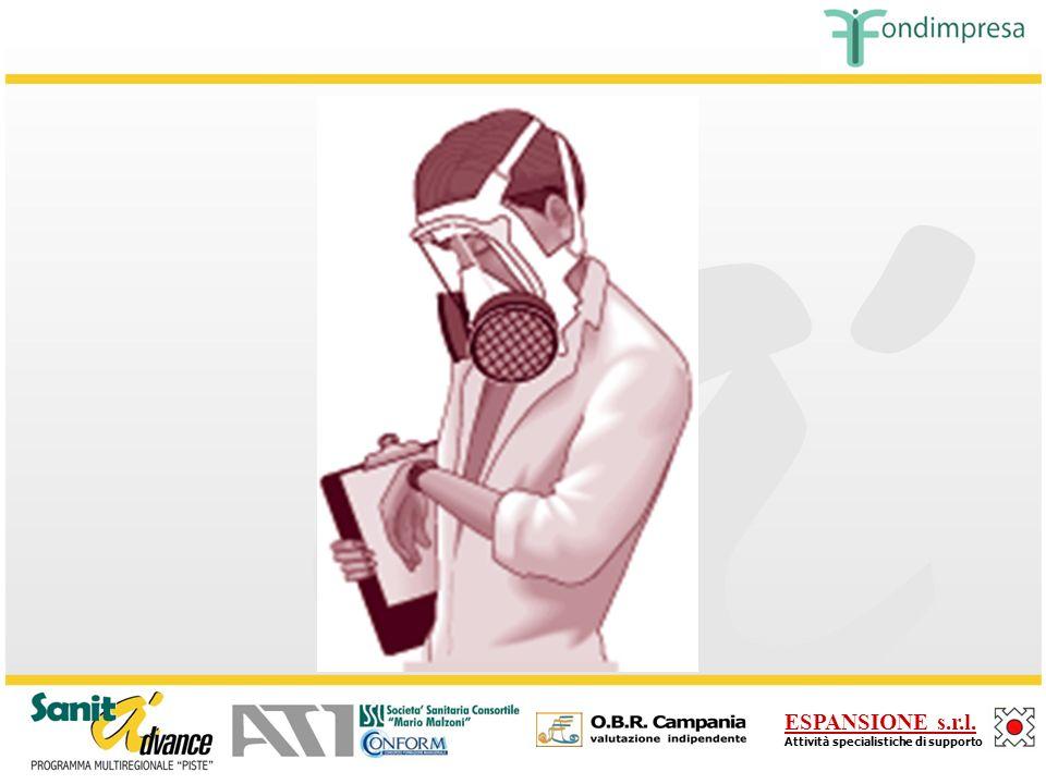 ESPANSIONE s.r.l. Attività specialistiche di supporto Facciale con filtri