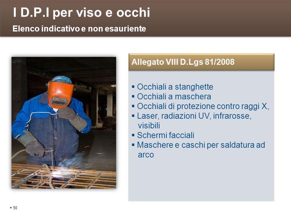 I D.P.I per viso e occhi 50 Occhiali a stanghette Occhiali a maschera Occhiali di protezione contro raggi X, Laser, radiazioni UV, infrarosse, visibil