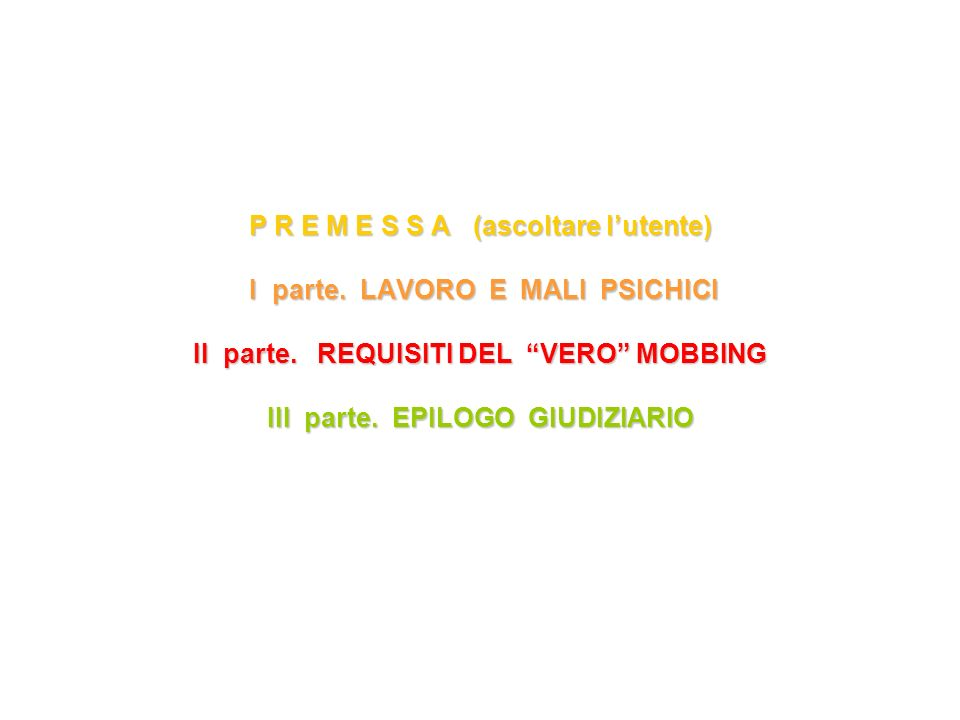 2) Frequenza.