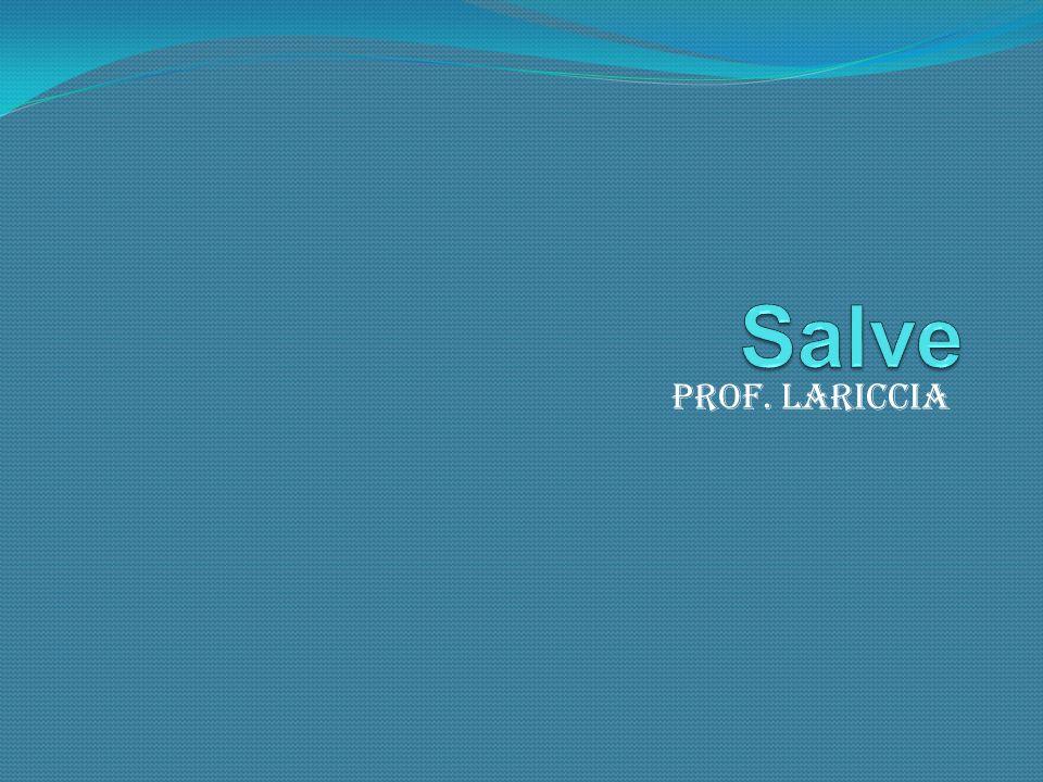Prof. Lariccia