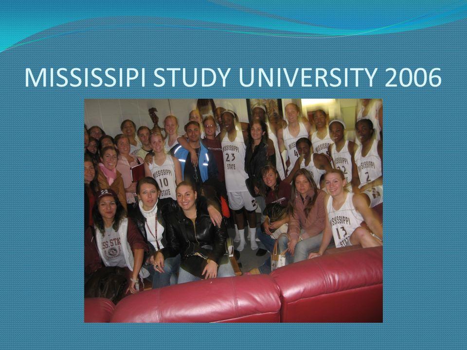 MISSISSIPI STUDY UNIVERSITY 2006