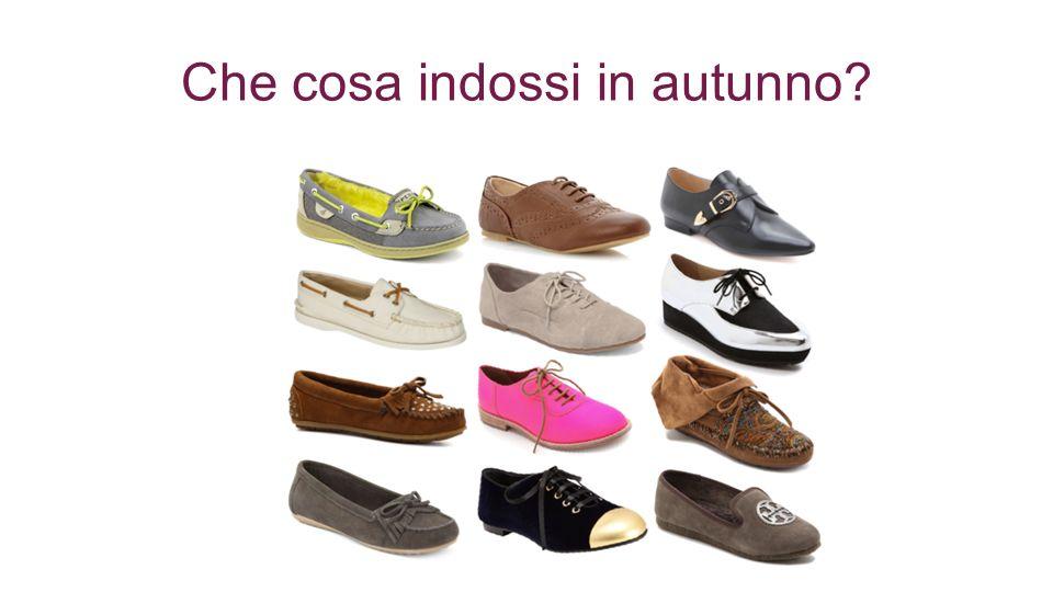 Che cosa indossi in autunno?