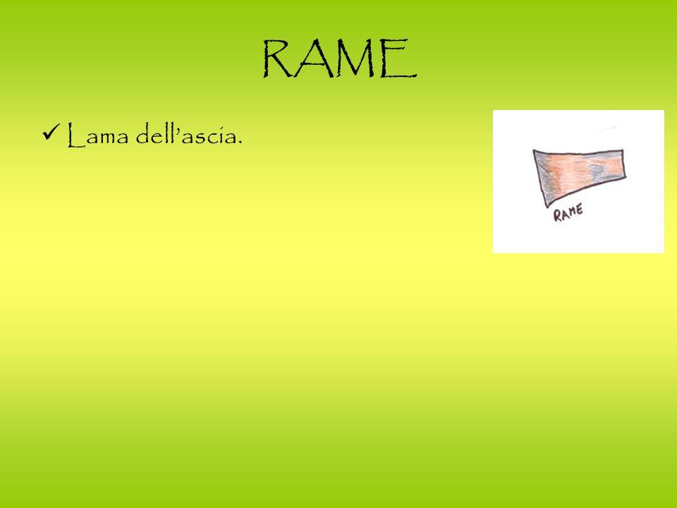 RAME Lama dellascia.