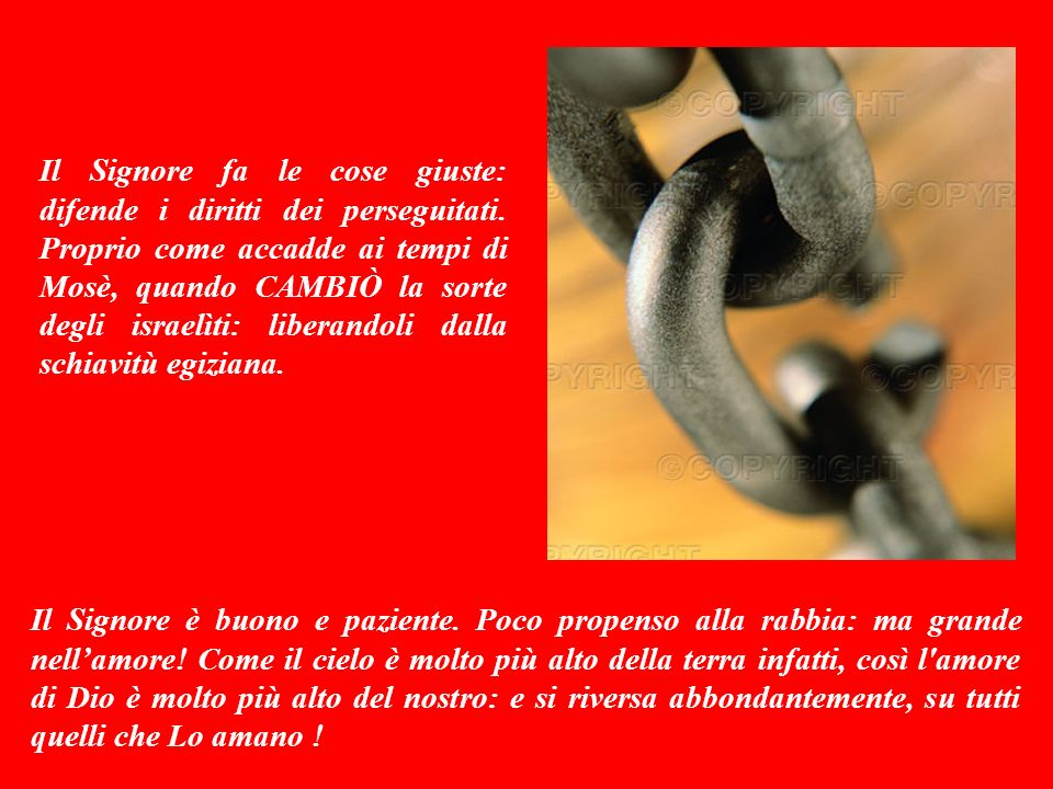 Sottofomdo musicale: CAMBIARE (Alex Baroni) Buona Domenica da Antonio Di Lieto (www.bellanotizia.it) Ora che hai ascoltato la Mia Parola, rispondimi … Per approfondire la bellanotizia premi qui F I N E