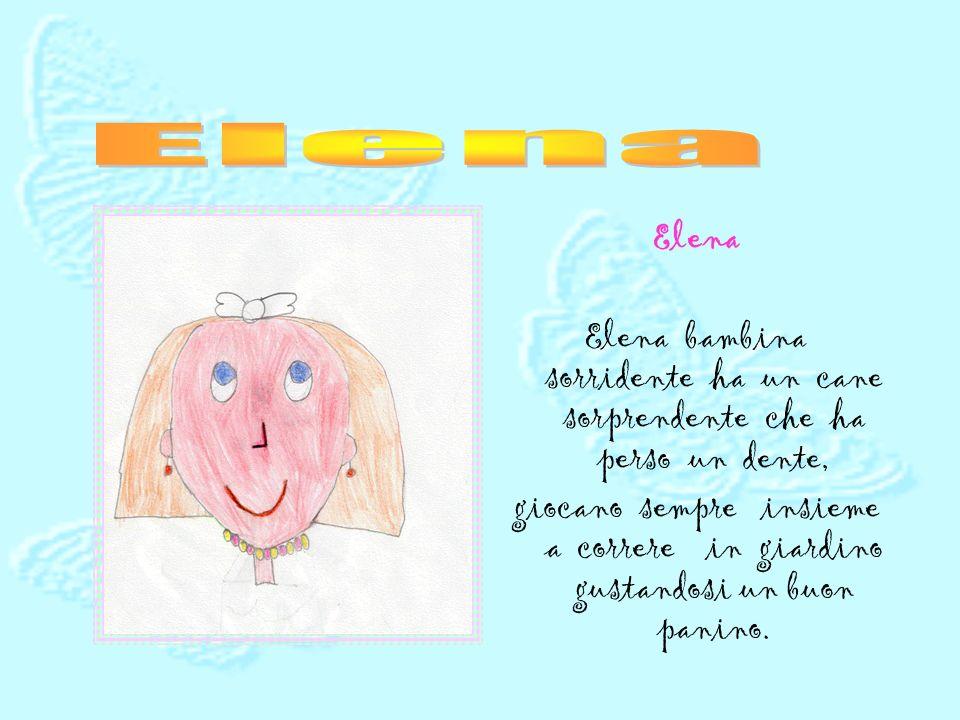 Veronica Veronica alta e magrolina è proprio una bella bambina. Sempre felice gioca con Alice. Legge il libro di Pandi senza avere bisogno di Comandi.
