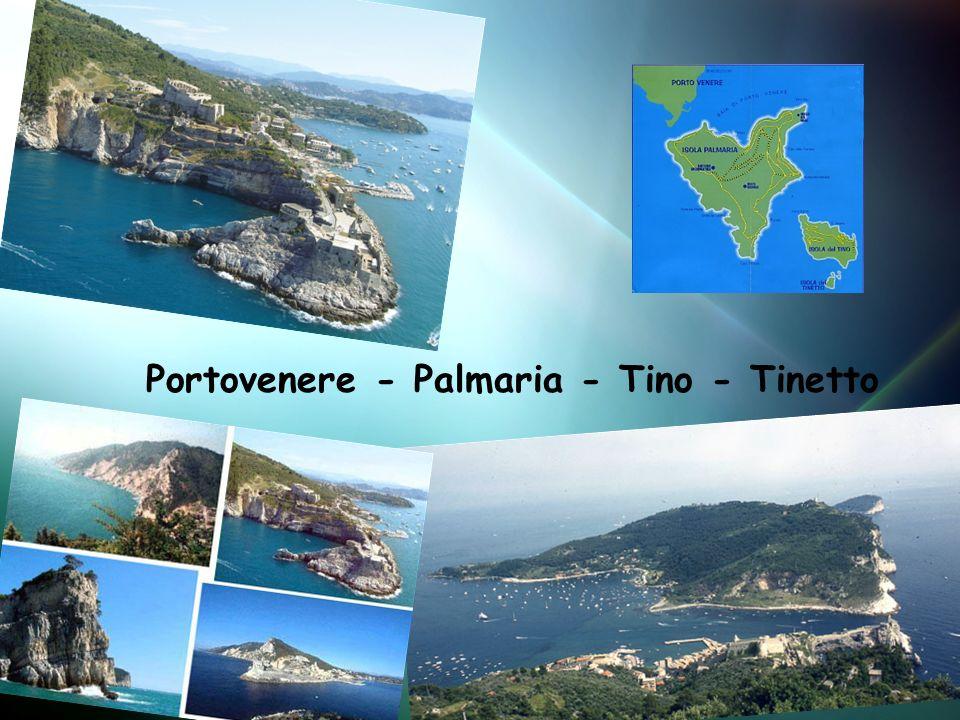 Portovenere - Palmaria - Tino - Tinetto