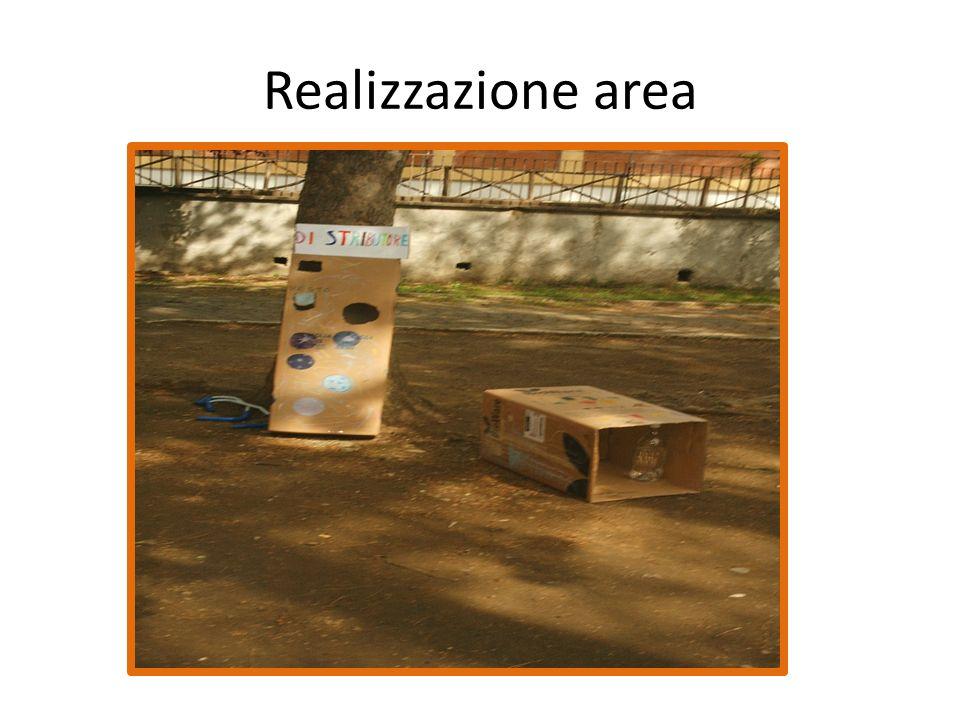 Realizzazione area
