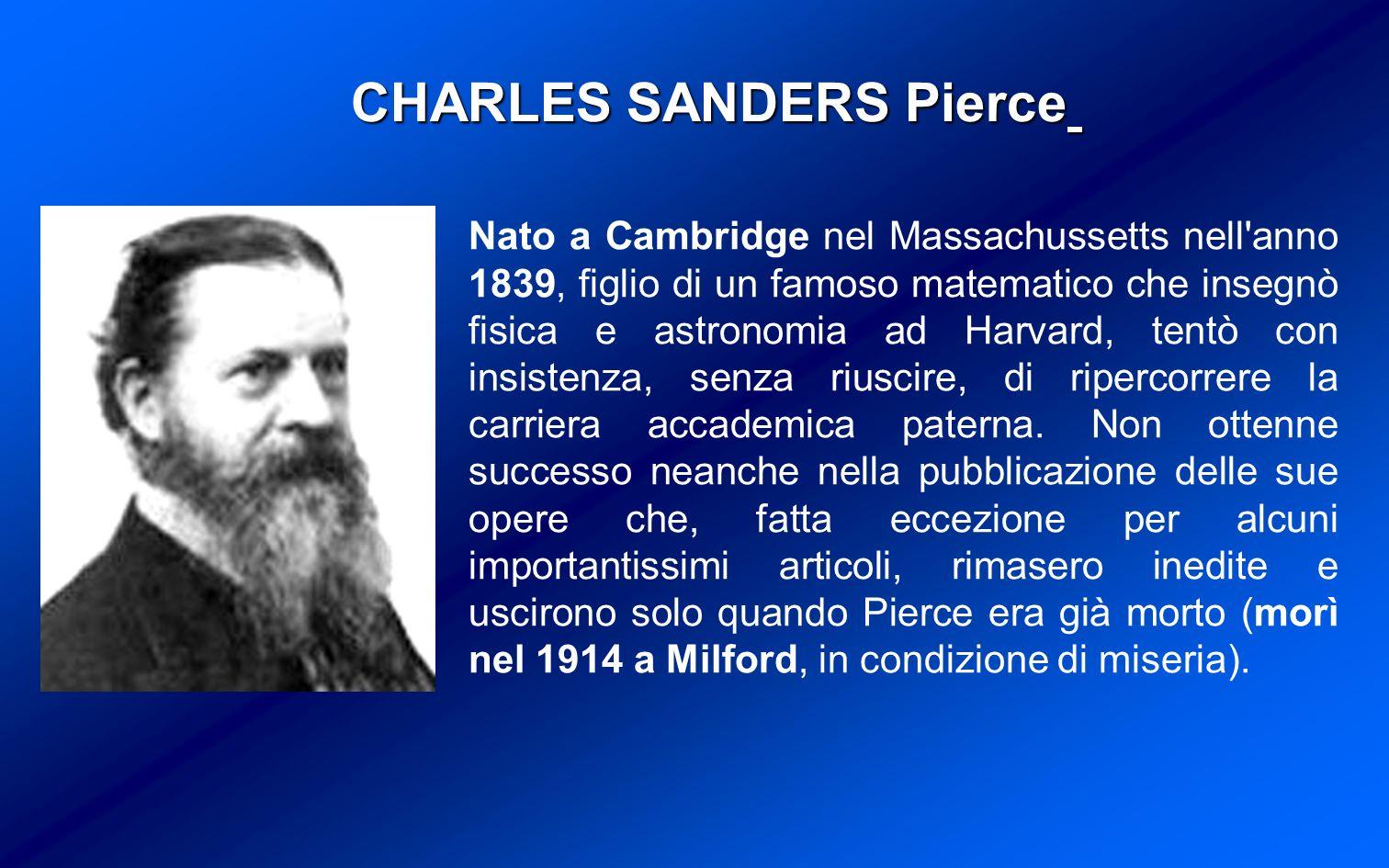 Nato a Cambridge nel Massachussetts nell anno 1839, figlio di un famoso matematico che insegnò fisica e astronomia ad Harvard, tentò con insistenza, senza riuscire, di ripercorrere la carriera accademica paterna.