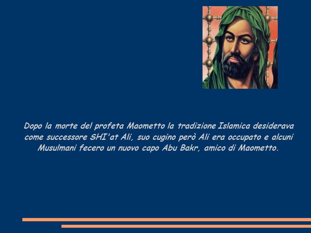 Abu Bakr aveva tre collaboratori essi sono conosciuti dai Musulmani come i quattro Veri Capi Califfi.