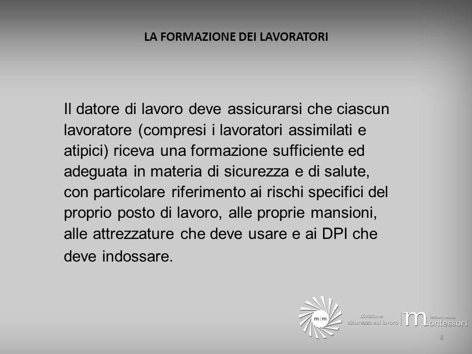 IL DOCUMENTO DI VALUTAZIONE DEI RISCHI D.V.R.