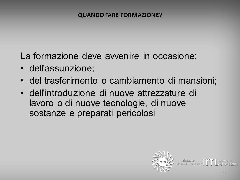 SANZIONI PER IL DATORE DI LAVORO (ART.