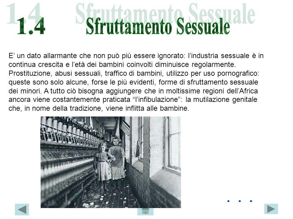 E un dato allarmante che non può più essere ignorato: lindustria sessuale è in continua crescita e letà dei bambini coinvolti diminuisce regolarmente.