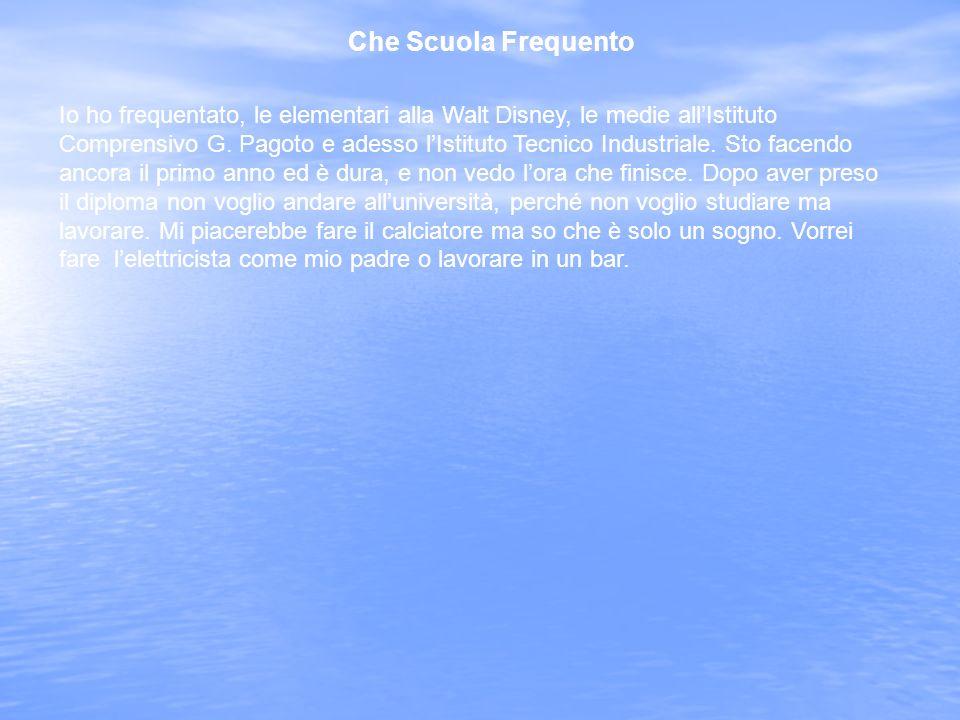 Da Dove Vengo Vengo da Villa Rosina (Trapani).
