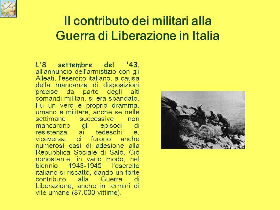 Donne e uomini della resistenza Nel corso dell ultima guerra mondiale furono decine di migliaia i partigiani che parteciparono attivamente, a prezzo della vita, alla guerra di liberazione dell Italia dal fascismo e dall occupante nazista.