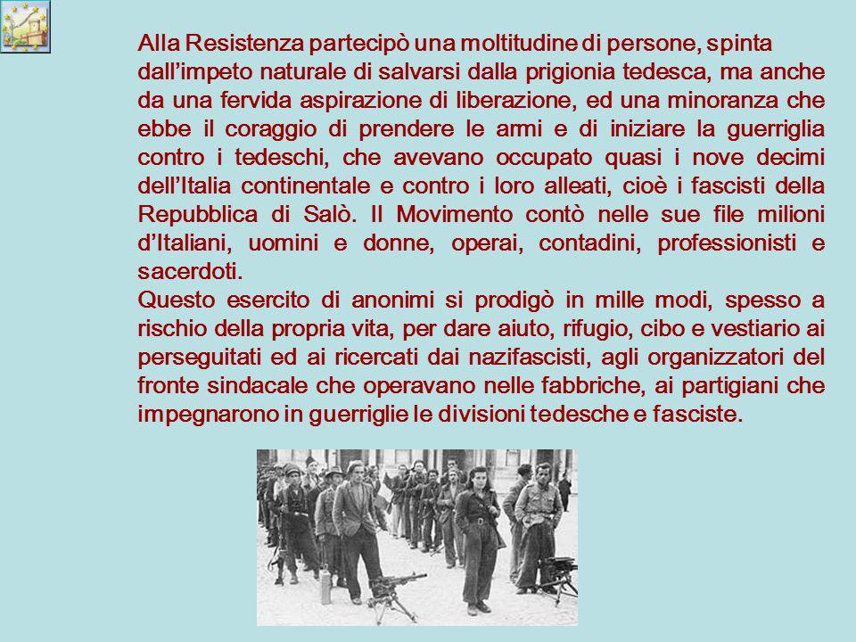 Nel Sud si ricostituì il governo del re, prima a Brindisi poi a Salerno.
