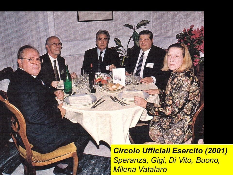 Circolo Ufficiali Esercito (2001) Speranza, Gigi, Di Vito, Buono, Milena Vatalaro