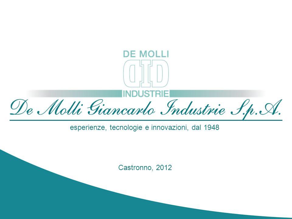 Castronno, 2012 esperienze, tecnologie e innovazioni, dal 1948