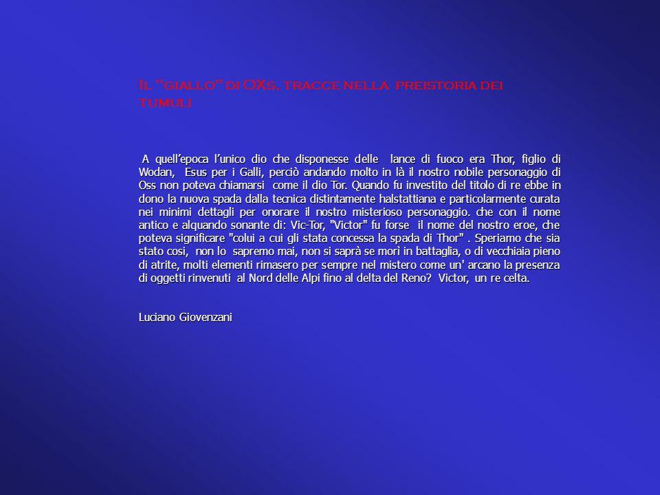 Bibliografie: Bibliografie: Museo Jan Cunen Gemeente Oss - Harry Fokkens Rijkmuseum Universita di Leiden - dello stesso autore: Tumuli in the Bronz Age (testo in olandese - Fondazione vorstengraf Oss - riferimenti grafici autore Mr.