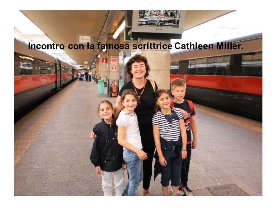 Incontro con la famosa scrittrice Cathleen Miller.