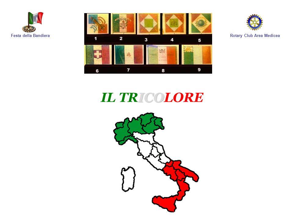 Rotary Club Area MediceaFesta della Bandiera In Italia facciamo risalire lorigine di tante cose al Padre della nostra Lingua ed anche la Bandiera non sfugge a questa regola, infatti nel Purgatorio…