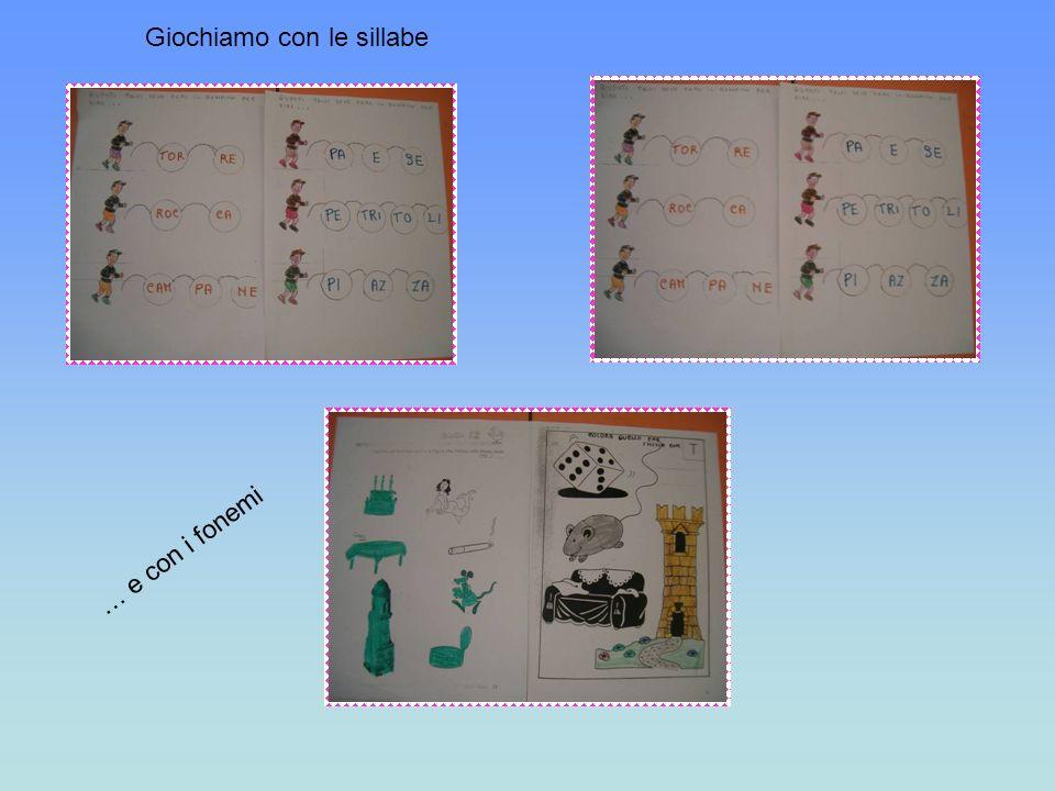 Giochiamo con le sillabe … e con i fonemi
