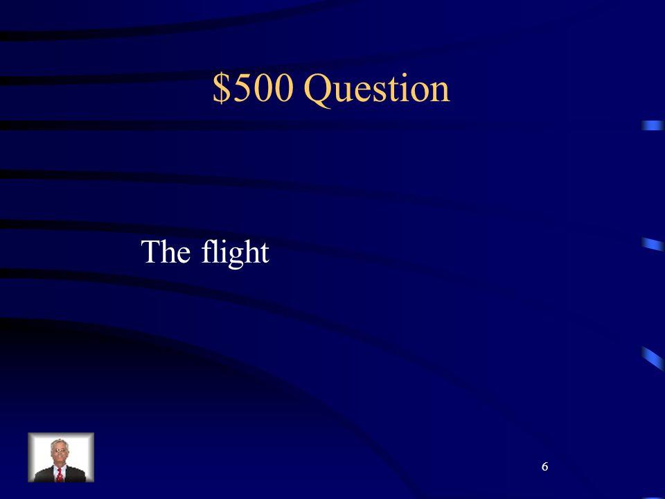 7 $100 Question Il fondo