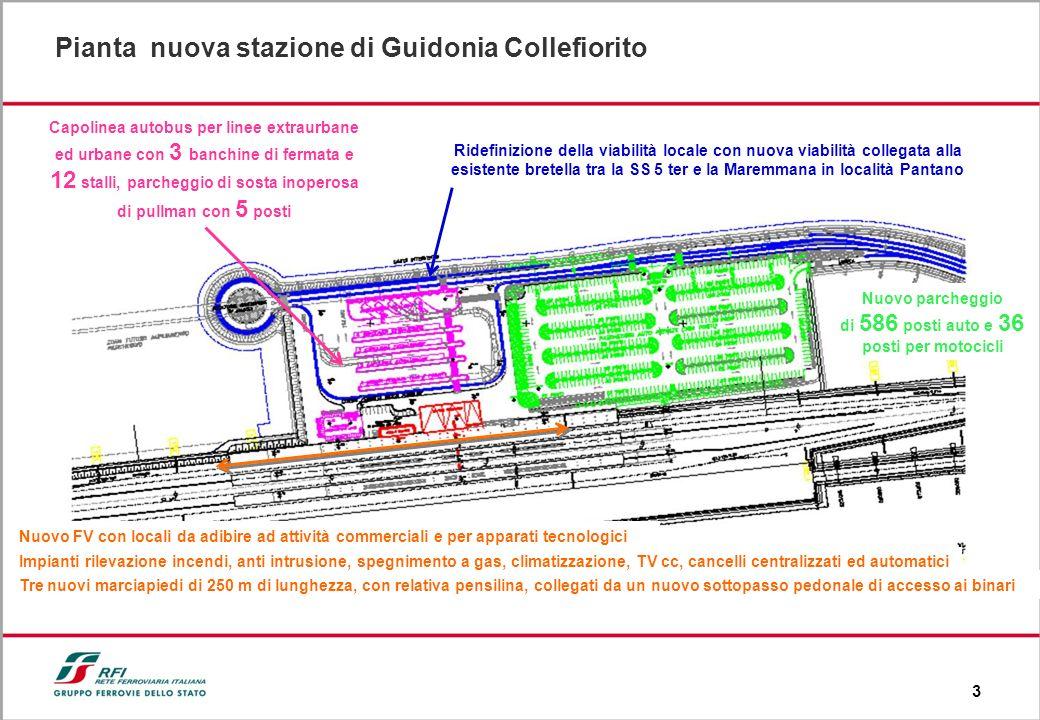 3 Ridefinizione della viabilità locale con nuova viabilità collegata alla esistente bretella tra la SS 5 ter e la Maremmana in località Pantano Nuovo